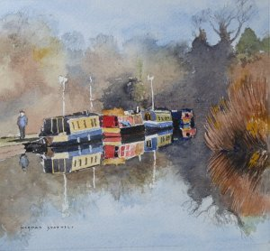 Canal Boats Hest Bank 2013